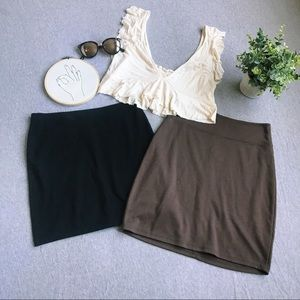 Bundle of 2 Skirts